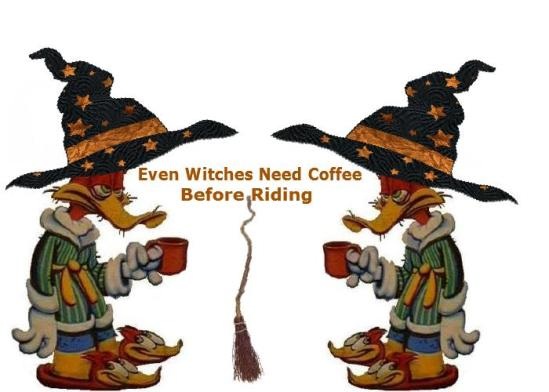 witches and coffee