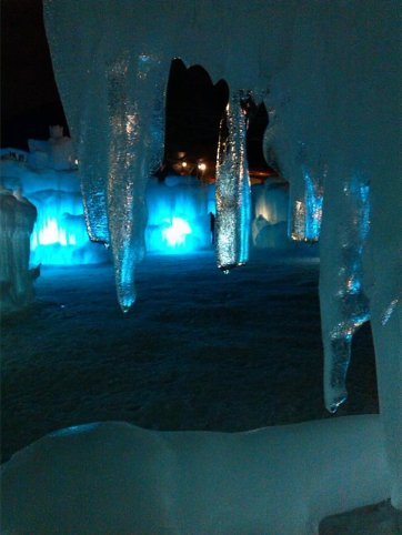 Ice Castle-Lincoln NH